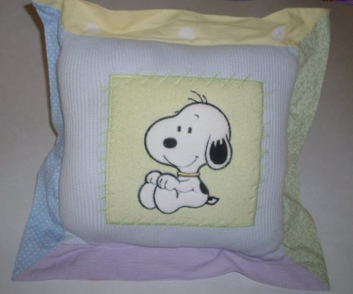 Baby Snoopy Costumes (BABY SNOOPY & FAMILY - Lambs & Ivy - PILLOW Decor - Daisy Hill Puppies)