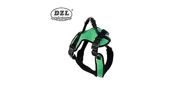 DZL Arnés antitiro para Perro (XL, Verde) XL:Cuello 60-70cm Pecho ...