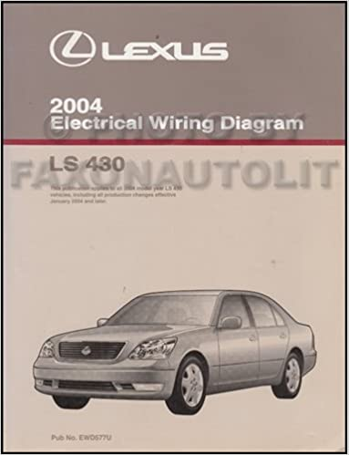 2004 lexus ls 430 wiring diagram manual original lexus amazon 2004 lexus ls 430 wiring diagram manual original lexus amazon books asfbconference2016 Image collections