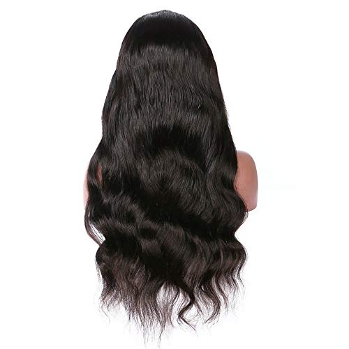 Inkach Clearance Long Wavy Lace Front Wig, Synthetic Curly Wig Fiber Hair Wig for Black Women -