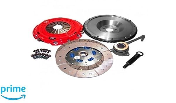 Amazon.com: South Bend Clutch K70205-SS-TZ-DMF Clutch Kit (DXD Racing 97-05 Audi A4/A4 Quattro B5 1.8T Stg 3 Endur): Automotive