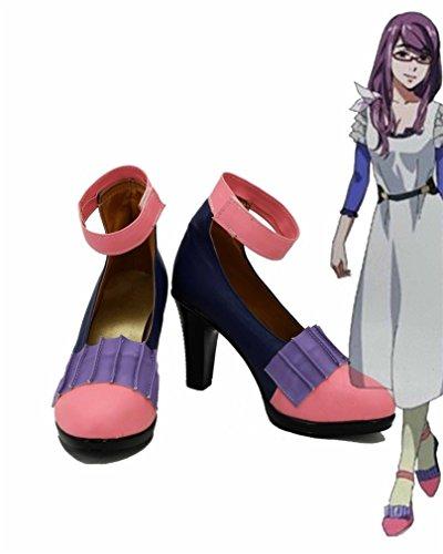 Bromeo Tokyo Ghoul Anime Rize Kamishiro Cosplay Schuhe