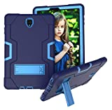 Galaxy Tab S4 10.5 Case - UZER Heavy Duty Shockproof Anti-Slip Silicone High Impact Resistant Hybrid Three Layer Armor Case with Kickstand for Samsung Galaxy Tab S4 10.5 Inch 2018(SM-T830 T835 T837)