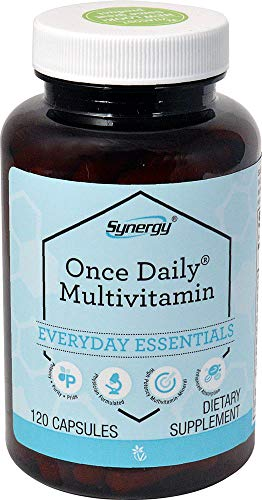 R-vit Type - Synergy Once Daily(R) Multi-Vitamin - High-potency multi-vitamin with 21 essential vitamins and minerals with powerful antioxidants such as green tea resveratrol CoQ10 and more - 120 Capsules
