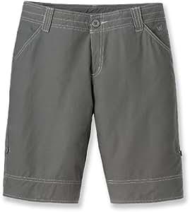 White Sierra Women's Ridgecrest Roll Up Shorts (Caviar, 4)