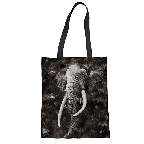 Tote 1 Cc3516z22 Marrone Dimensione Elefante Donna Showudesigns Bag La Per zwTSq55A