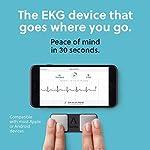 AliveCor® KardiaMobile EKG Monitor | FDA-Cleared | Wireless Personal EKG | Works with Smartphone | Detects AFib Bradycardia and Tachycardia in 30 Seconds