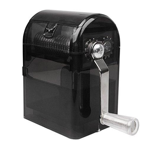 (BESTOMZ Hand Crank Crusher Tobacco Cutter with Tobacco Storage Case Hand Muller Smoking)
