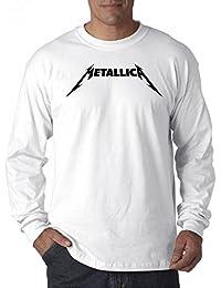 778 - Unisex Long-Sleeve T-Shirt Metallica Beavis Butt-Head Parody Logo