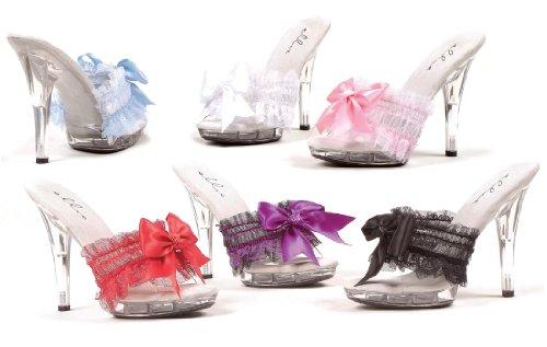 Sandalo Ellie M-cutie 5 Tacco Donna, Rosso, Taglia 9
