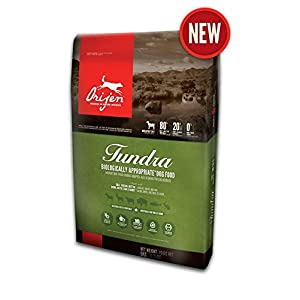 Orijen Tundra 4.4lb Wholeprey Grain-Free Dog Food 98