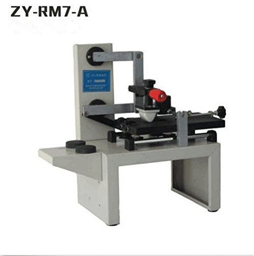 welljun ZY-RM7-A Desktop Manual Pad Printer,handle pad printing machine,ink printer