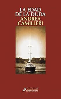 La edad de la duda par Camilleri