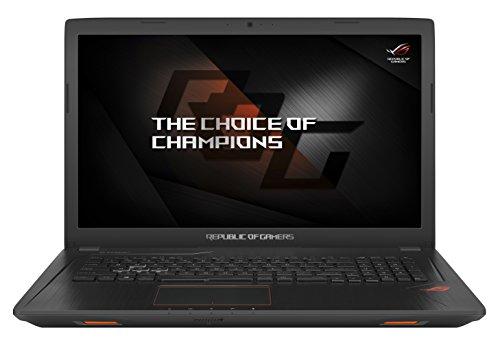 Asus ROG GL753VD-GC001T 43,9 cm (17,3 Zoll mattes Full-HD Display) Gaming Notebook (Intel Core i5-7300HQ, 8GB RAM Arbeitsspeicher, 1TB HDD Festplatte, 128GB SSD, NVIDIA GTX1050, Win 10) schwarz