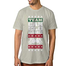NUBIA Men's Canelo A Team Cool T Shirt Natural Size S