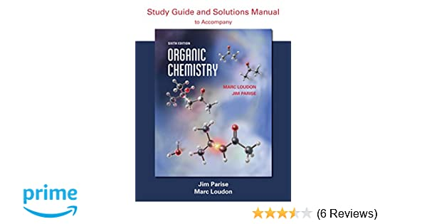 Amazon organic chemistry study guide and solutions amazon organic chemistry study guide and solutions 9781936221868 marc loudon jim parise books fandeluxe Image collections