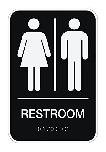 COSCO Mens Womens Unisex Restroom product image