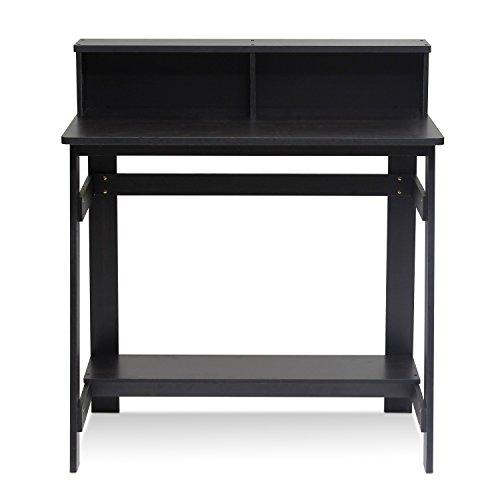 - Furinno 14054EX Simplistic a Frame Computer Desk, Espresso