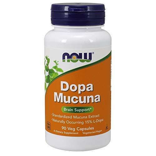 - NOW Supplements, DOPA Mucuna, Standardized Mucuna Extract with Naturally Occurring 15% L-Dopa, 90 Veg Capsules