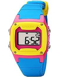 Unisex 101810 Shark Classic Tri-Tone Digital Sport Watch