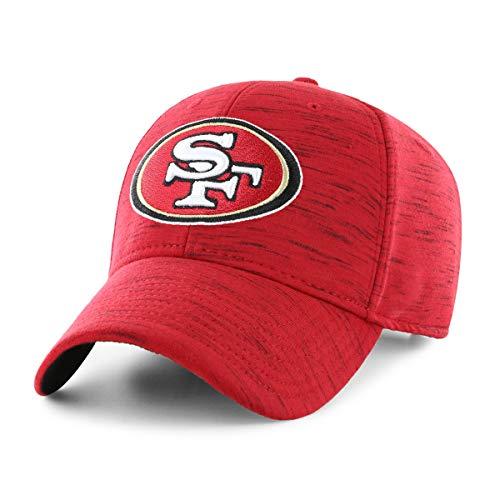 (OTS Adult NFL Men's Space Shot Star Adjustable Hat, Storm, One Size)