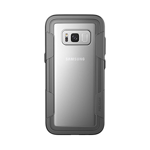Pelican Voyager Samsung Galaxy S8+ Case - Clear/Grey (Pelican Case For Headphones)