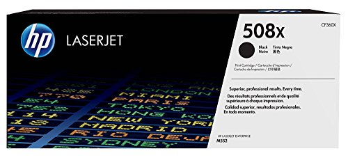 HP 508X (CF360X) Black High Yield Original Toner Cartridge by HP