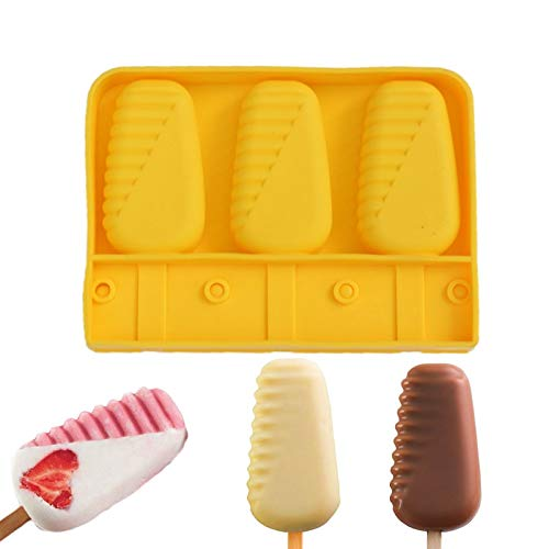 (Ice Cream Molds Silicone Original Shape Cream Moulds With For Healthy Molds Baking)
