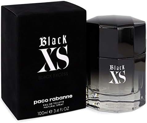 BLACK XS FOR MEN BY PACO RABANNE 100ML 3.4OZ