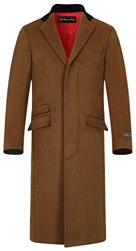 Wool And Satin Coat - 8