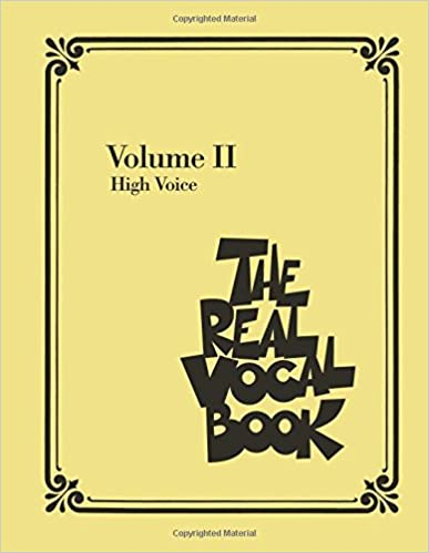 download pdf by hal leonard corp the real vocal book volume 2