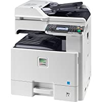 Kyocera 1102MY2US0 ECOSYS FS-C8525MFP Color Multifunctional Printer (Print, Copy, Scan, Fax), 25 PPM Color and B&W, Print / Scan Resolution 600 x 600 dpi, HyPAS, Duplex, 1.5 GB upgradeable to 2 GB