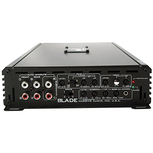 Massive Audio Blade Power 5 Channel, Amplifier with Boost.