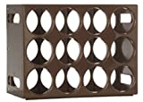 Le Cellier Wine Rack, Dark Brown Review