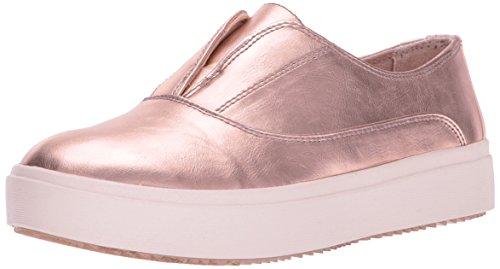 Dr. Scholl's Women's Brey Fashion Sneaker,Rose Gold Glimmer,6.5 M US