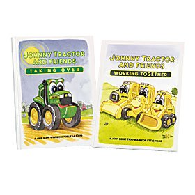 Johnny Tractor Hardcover Book (Johnny Tractor Toy Book)