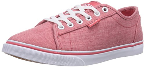 Vans Rowan - Zapatillas de deporte Mujer rojo - Rot ((Linen) red/whi FHQ)