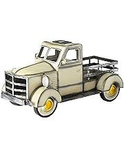 ayaso Retro stijl Solar Pickup Truck Tuin Decoratie Truck Bloempot met Auto Licht