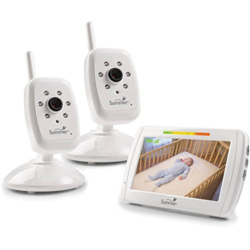 Summer Infant In-View Duo Monitor with Extra Camera