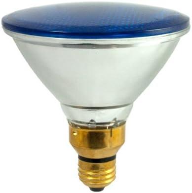 Blue Bulbrite H90PAR38B 120V 90W PAR38 Halogen Light
