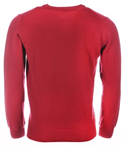 Homme Rosso Neck Lambswool Pull V Gant 617 IqOwZE