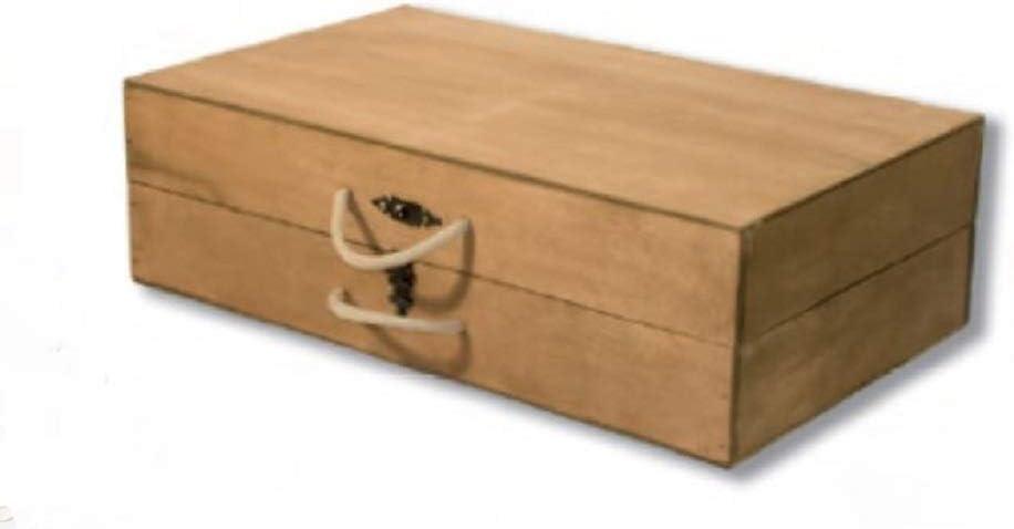 Maleta-Caja para Guardar jamoneros Plegables y Desmontables. Maletín de Madera con Asas para Transportar Soportes de Jamón y Paletilla. Dimensiones de 58x31x15 cm, Ideal para Llevar a Cualquier Sitio: Amazon.es: Hogar