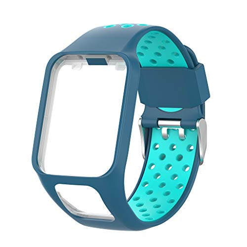 Amazon.com: Libison Watch Band, Silicone Breathable Bracelet ...