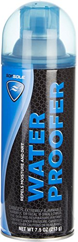 Price comparison product image Sof Sole Waterproofer Spray for Shoes, Boots and Jackets, 7.5-ounce