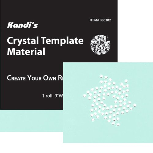 "Kandi's by Alora Company Crystal Template Material 9"" x 36"" Create Your Own Rhinestone Designs Kandi's by Alora Company price tips cheap"