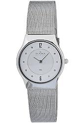 Skagen Women's O233SSSC Quartz Silver Dial Stainless Steel Watch