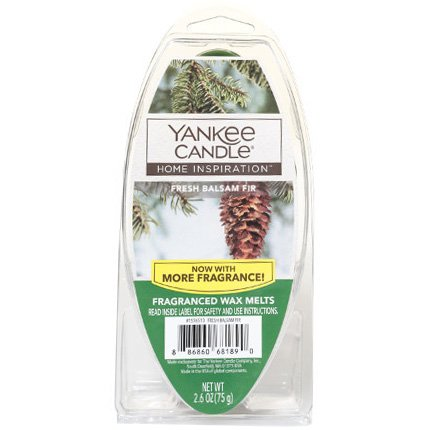 Yankee Candle Fresh Balsam Fir FragrancedワックスMelts 2.6オンス   B07FLYD1H8