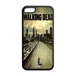 Customize Hot TV Show The Walking Dead Cover Case for iPhone 5C Phone Case