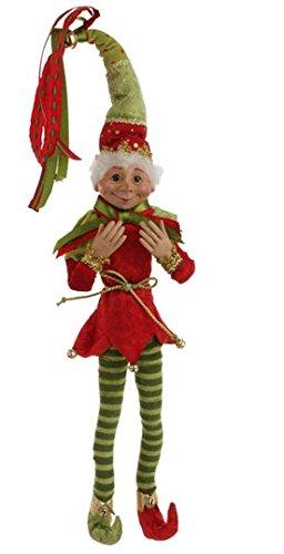 raz imports christmas 20 posable elf green hat