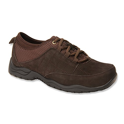 Drew Shoe Womens Lisbon Shoes,Brown,10.5 XW